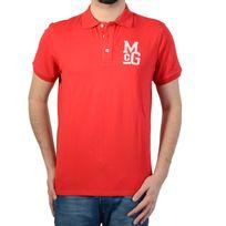 Mc Gregor - Polo Mcgregor Stanson Basics Sportwear Del.4 20.3202.61-801 Rouge