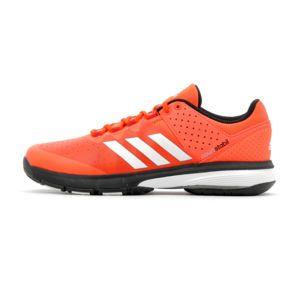 Adidas performance - Chaussure de handball Court Stabil Rouge