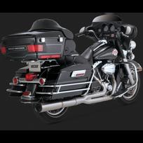 Honda - Harley Davidson Flh-flt-1450-1584-SILENCIEUX Echappement Vance Hines Stainless Hi Output 2/1 Chrome-1800-1589