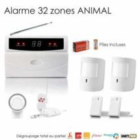 SecuriteGOODdeal - Alarme sans fil animaux, 32 Zones medium