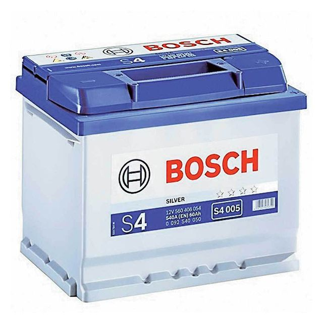 bosch batterie s4005 60ah 540a pas cher achat vente batteries rueducommerce. Black Bedroom Furniture Sets. Home Design Ideas