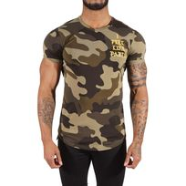 Project X - Tee Shirt camouflage I feel Like Pablo 88171152, Taille: Xl, Couleur: Vert
