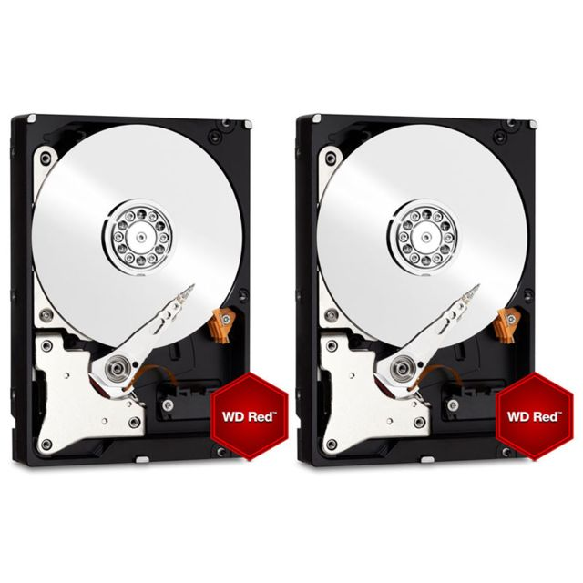 WESTERN DIGITAL WD Red - 2 x 6 To Pack de 2
