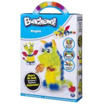 Spin Master - Coffret Bunchems Phophorescents Dragons