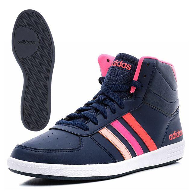 on sale 1f79b fa820 Adidas - adidas Neo-Chaussure Baseline Vs Mid W Femme Marine F98635