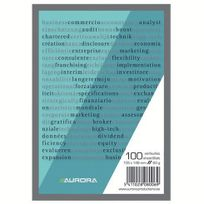 Aurora - Blocs-notes A6 Uni - Lot de 10