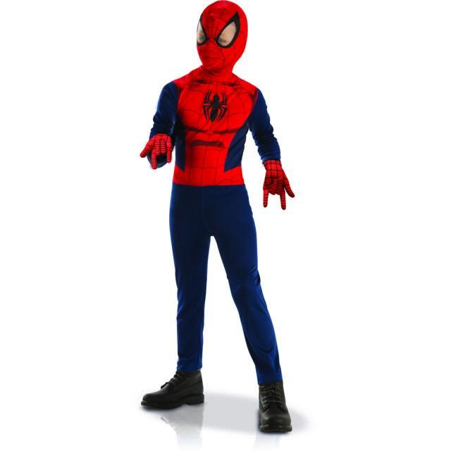 Marvel - Panoplie Spdier-man + Gants - L - pas cher Achat   Vente ... 52b79242afe7
