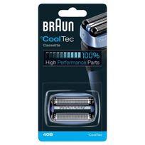 Braun - Grille + Couteau pour rasoirs CoolTec Réf. P40B