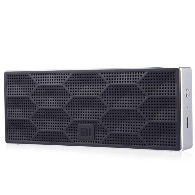 Auto-hightech Mini enceinte Bluetooth 4.0 Haut-parleur Lecteur de Musique Batterie Intégré Noir