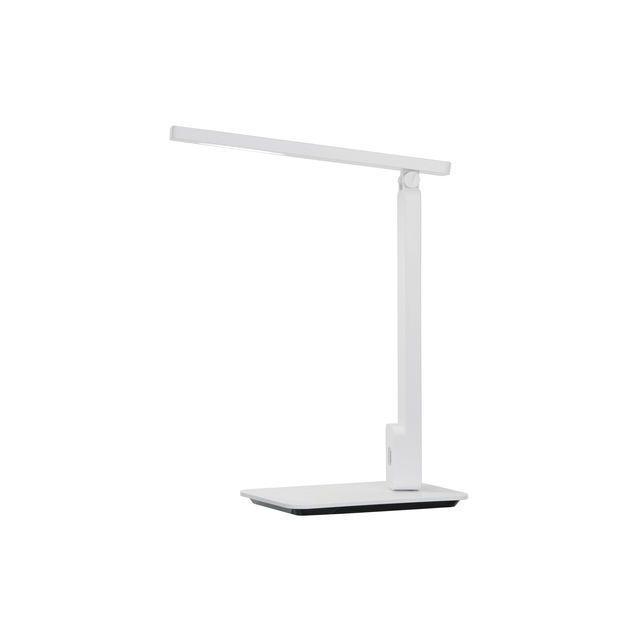 Esto Lighting Lampe de bureau Tactile Tissu blanc Geer Led 0,4W 9722046