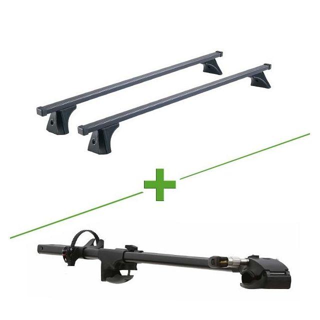 0c3f2d074f0c60 Cruz - Pack barres et porte vélo Oplus Fix + ForkLift pour Peugeot Expert  Court -