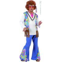 Marque Generique - Costume d'homme hippie woodstock