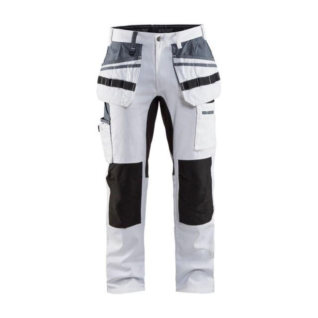 Pantalon de travail peintre 100% coton Stretch