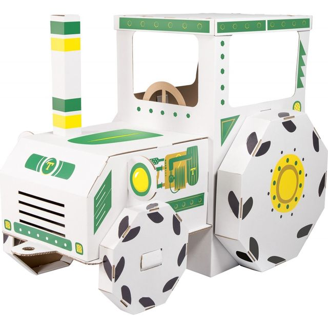 Small Foot Company Maison de jeu Tracteur en carton