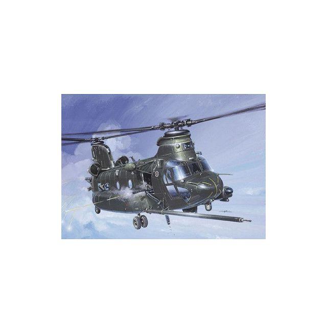Italeri Maquette hélicoptère : Mh-47 Esoa Chinook