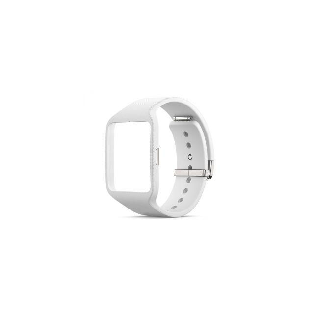 dernières tendances de 2019 professionnel de la vente à chaud nouvelles images de Sony - Bracelet Swr510 pour SmartWatch 3 coloris blanc - pas ...