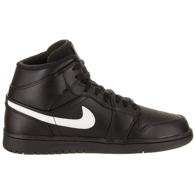 Jordan Nike Air 1 Mid, Chaussures de Basketball Homme