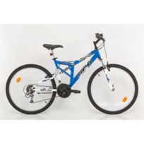 Vtt - 26'' Fsx 8.0 Mixte Tout Suspendu 18 Vitesses Index Freins V Brake