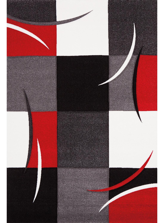 Tapis DIAMOND COMMA rouge Tapis Moderne 60 x 110 cm rouge 60 x 110 cm