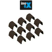 Inofix - Accessoires droits pour Cablefix 2201 marron