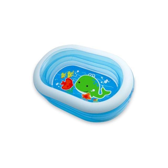intex piscine ovale family piscine pour enfant bleu pas cher achat vente piscines. Black Bedroom Furniture Sets. Home Design Ideas