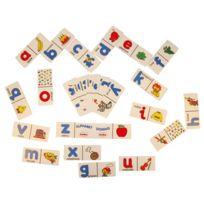 Henbea - Domino alphabet en anglais