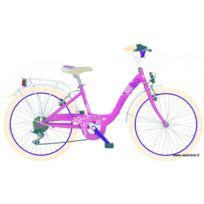 Mbm - Vélo fille Fleur 24 pouces