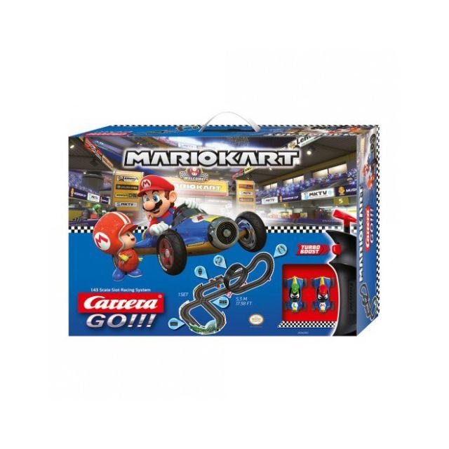 Carrera Circuit voitures Coffret Nintendo Mario Kart 8 Mach 8 - Dès 6 ans - Go!!! 62492