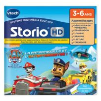 Vtech - Paw Patrol - Pat'Patrouille - Jeu Storio HD-Pat Patrouille
