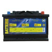 Auto 7 - Batterie 12V 70AH 510A EN, : Auto7