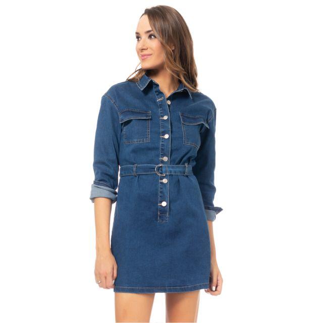 Tantra Robe chemise en jean