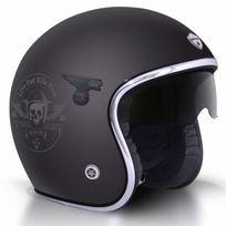 Gpa - Carbon Solar Skull Noir Mat