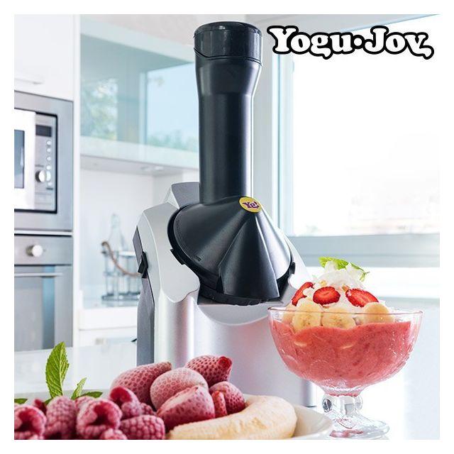 Totalcadeau Machine pour confection des glaces Sorbetière Yogu Joy- Machine a sorbet et yaourt glacé