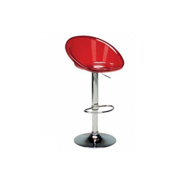 chaise transparente rouge. Black Bedroom Furniture Sets. Home Design Ideas