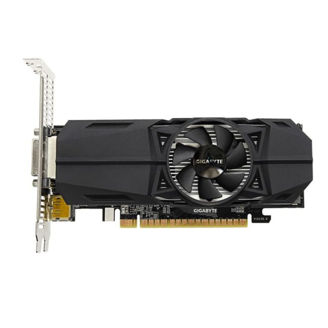Gigabyte GeForce Gtx 1050 Oc, 2048 Gddr5, Low Profile Gigabyte GeForce Gtx 1050 Oc, 2048 Gddr5, Low Profile