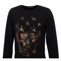 Paname Brothers - Tee shirt manches longues Taly black ml tee Noir 53953