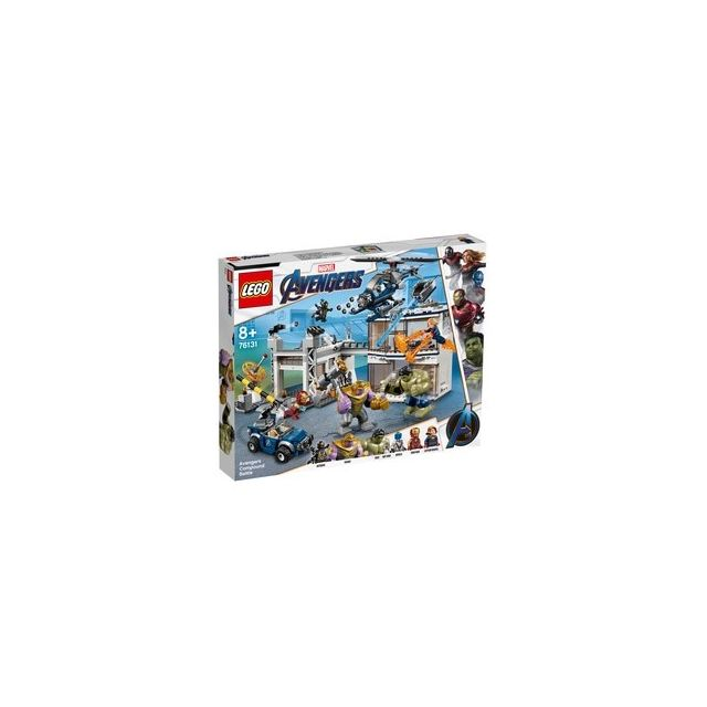 Lego 76131-® Marvel Avengers L'attaque du Qg des Avengers