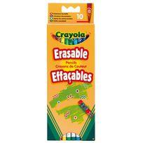 Crayola - 10 Crayons couleur