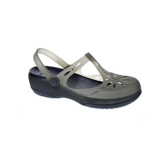 27c47ee3fad Crocs - Chaussures Femme Sabot modele Carlie Cutout Clog - pas cher Achat   Vente  Sandales et tongs femme - RueDuCommerce