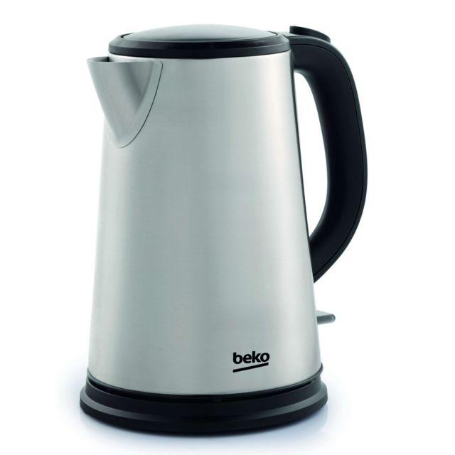 Beko bouilloire sans fil 1.6l 2400w inox - wkm6226i