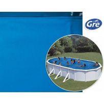 Gre Pools - Liner bleu Gre Pool pour piscine hors sol ovale - 7,30 x 3,75 x 1,20 m