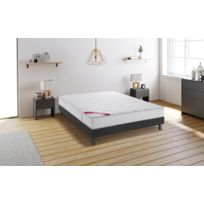 matelas sommier 140x190 achat matelas sommier 140x190 pas cher soldes rueducommerce. Black Bedroom Furniture Sets. Home Design Ideas