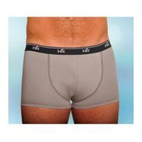 Le Mahieu Achel - Lot boxer avec protection urinaire lavable courte Homme Gris Large