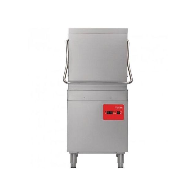 Gastro M Lave vaisselle à capot professionnel 2 Cycles panier 500x500 mm