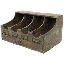 casier bois rangement achat casier bois rangement pas cher rue du commerce. Black Bedroom Furniture Sets. Home Design Ideas