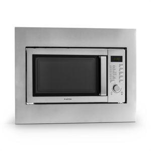 klarstein steelwave four micro ondes 23l 800w grill 1000w. Black Bedroom Furniture Sets. Home Design Ideas