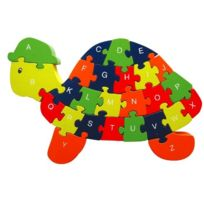 Sapin Malin - Sm96250 - Puzzle Tortue - Chiffres Et Lettres