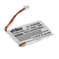 Vhbw Li Polymer batterie 900mAh 3.7V, pour appareil photo