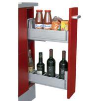 Gasperin - Element Coulissant Pour Meuble Bas De Cuisine Bouteille Et Aliment - Pour meuble mm:150 - Larg. mm:110