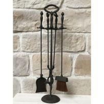 serviteur cheminee achat serviteur cheminee pas cher. Black Bedroom Furniture Sets. Home Design Ideas